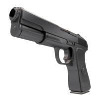 tt gun 56-a-132 pistol 3d model