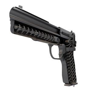 3d cutaway tt gun 56-a-132