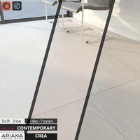 3d tile ariana crea ash model