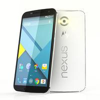 3d google nexus 6