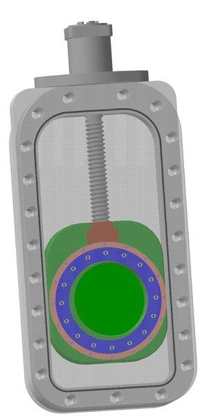 3d valve plane-parallel wedge
