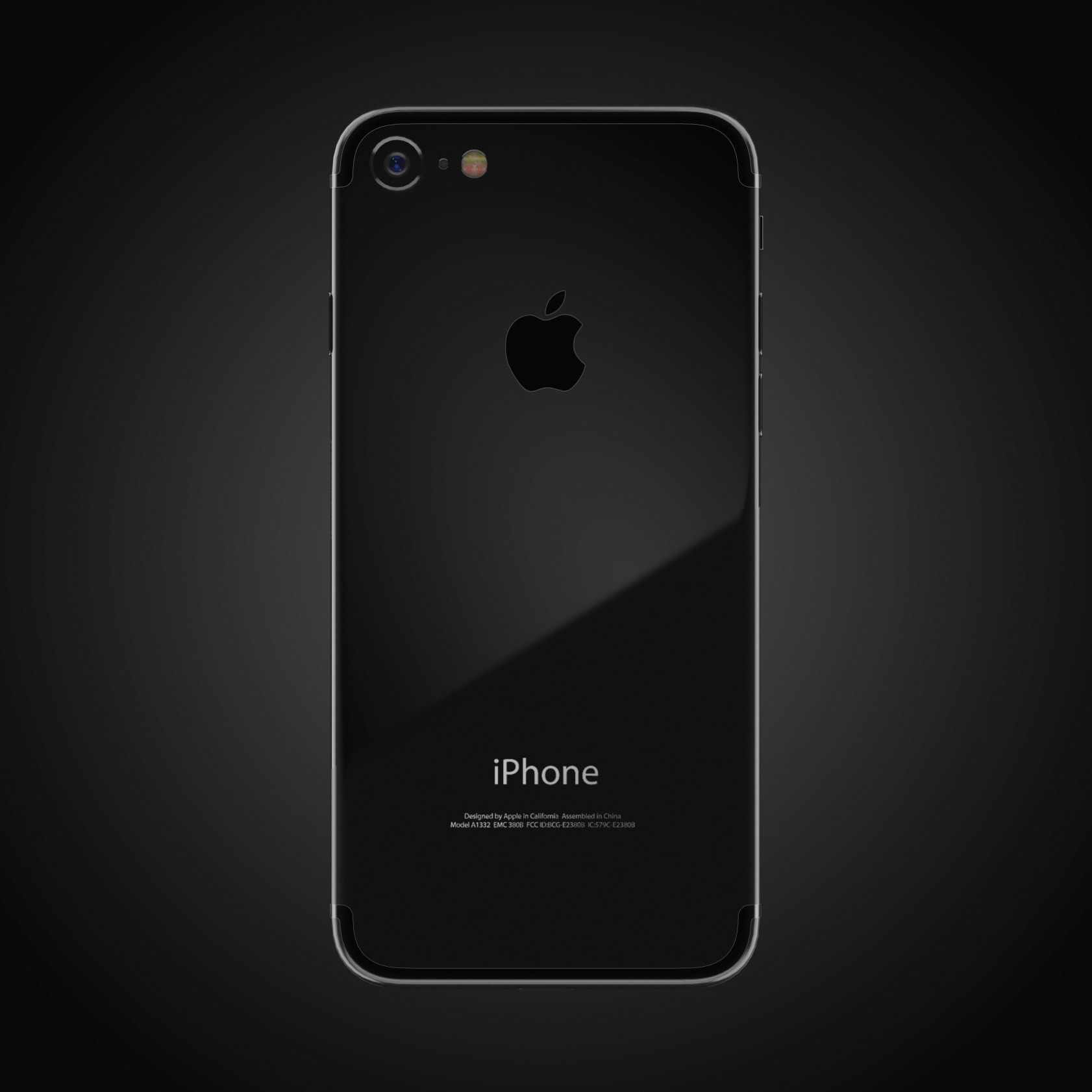apple iphone 7 3d model