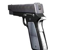 3d model fn handgun special