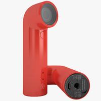 3d model htc camera