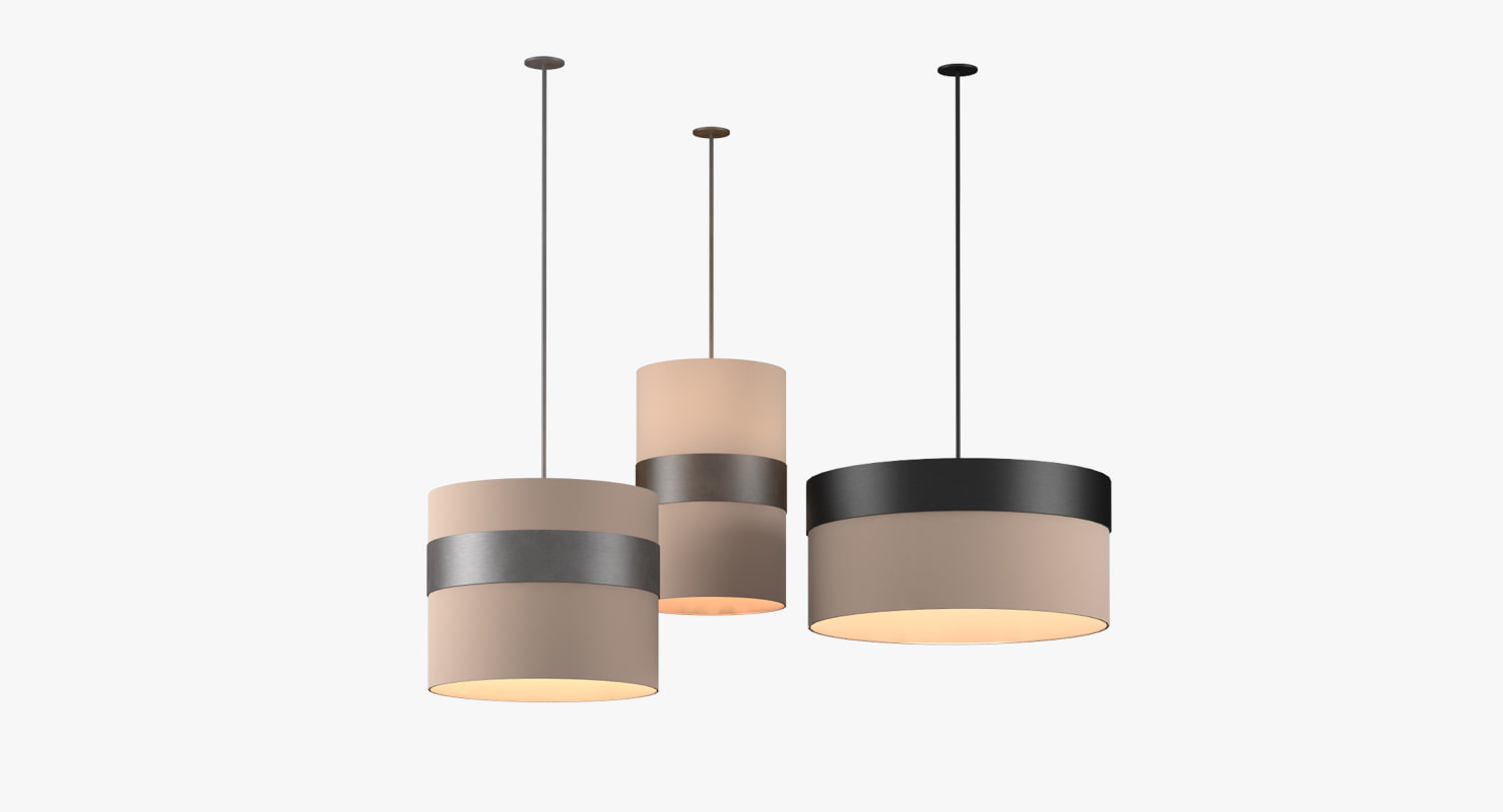 pendant lamp bamba 3d model