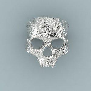 ring skull 3d 3ds