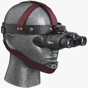 cobra optics goggles 3d model