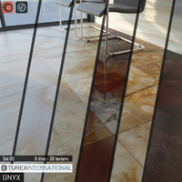 3d model tile turex international onyx