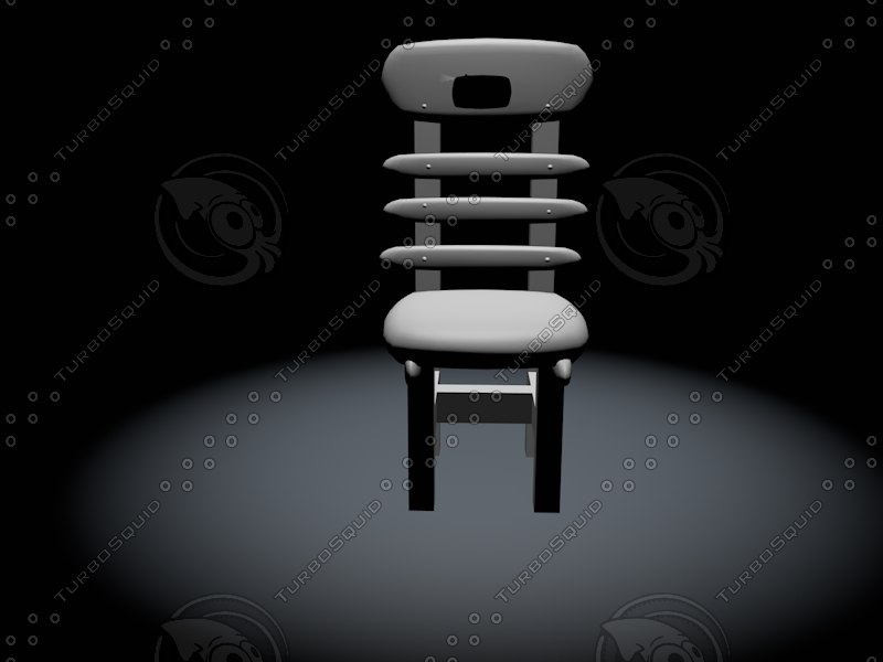 chair 2002 classic 3d model