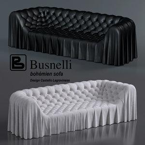 bohemian sofa living room 3d max