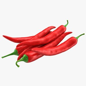 hot chili pepper 3d 3ds