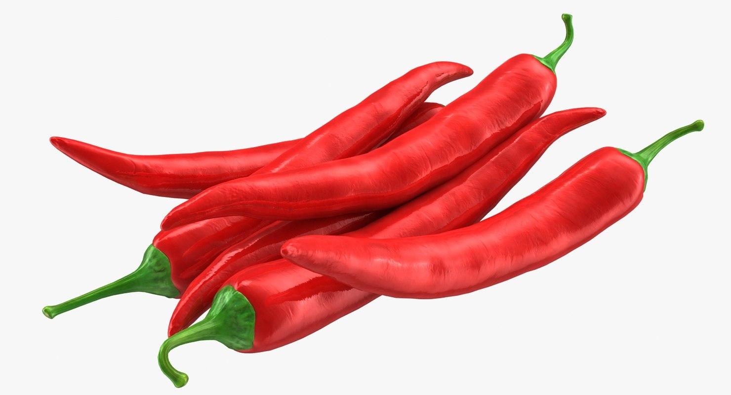 hot chili pepper 3d 3ds