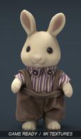 rabbit father 3d 3ds