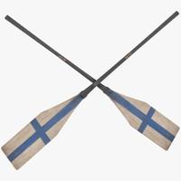 loon4036 wooden big oar max