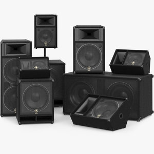 max yamaha speaker
