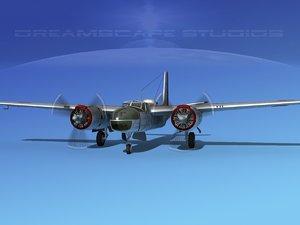 3d douglas b-26c b-26 bomber