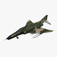 vietnam f4 phantom fbx