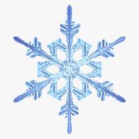 snowflake new 3d model