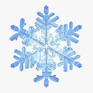 snowflake new obj