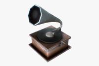 free obj model gramophone