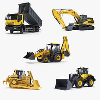 construction equipment dump truck max