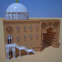 3d kasbah s model