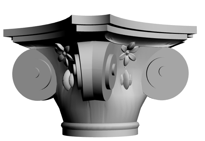 column capital dwg