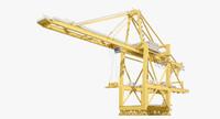 3d container crane