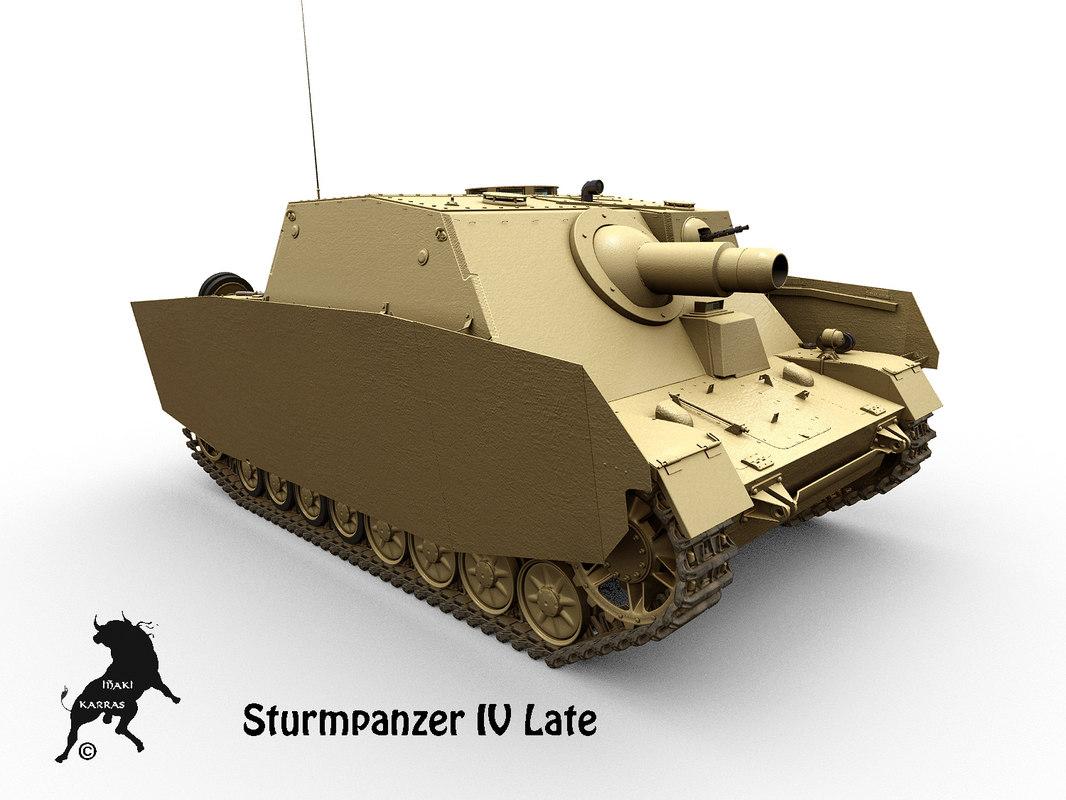 sturmpanzer panzer iv tank max