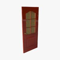 3d modern door model