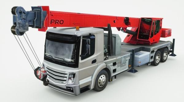 max generic crane truck