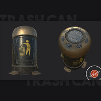 obj trash substance painter