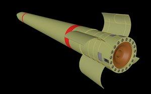 free rocket r262 3d model