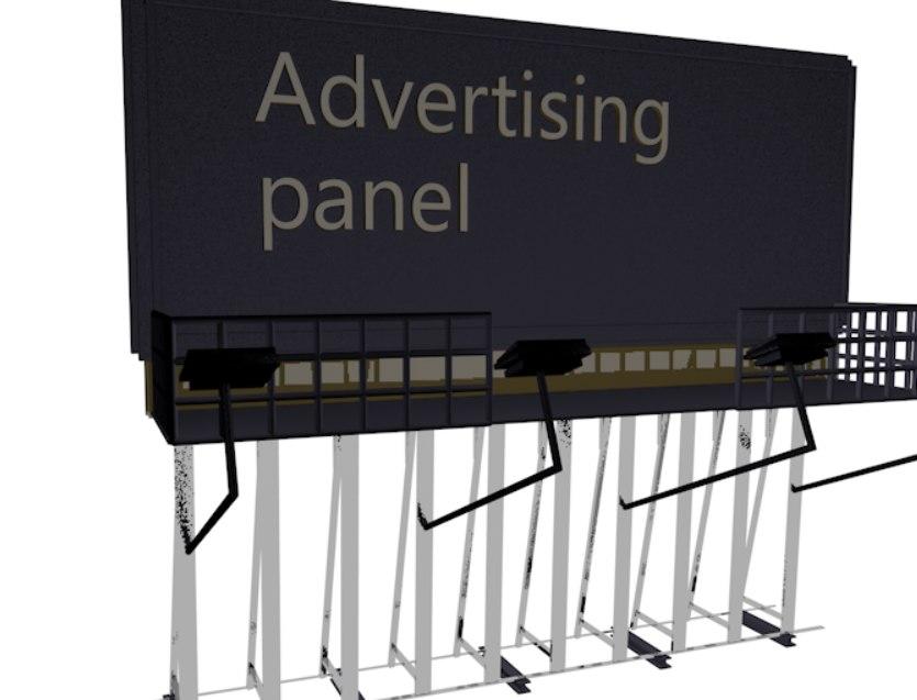 3d panel model