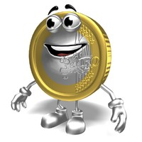 Cartoon coin