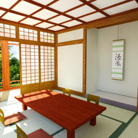 Japanese Home Pagoda Interior
