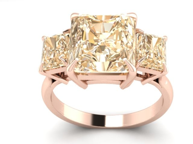 3d engagment ring