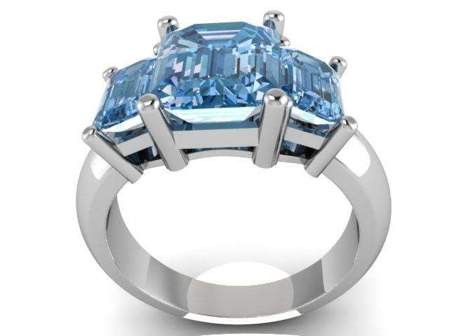 engagment ring 3d 3ds