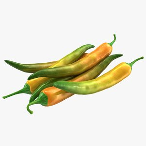 obj hot chili pepper mix