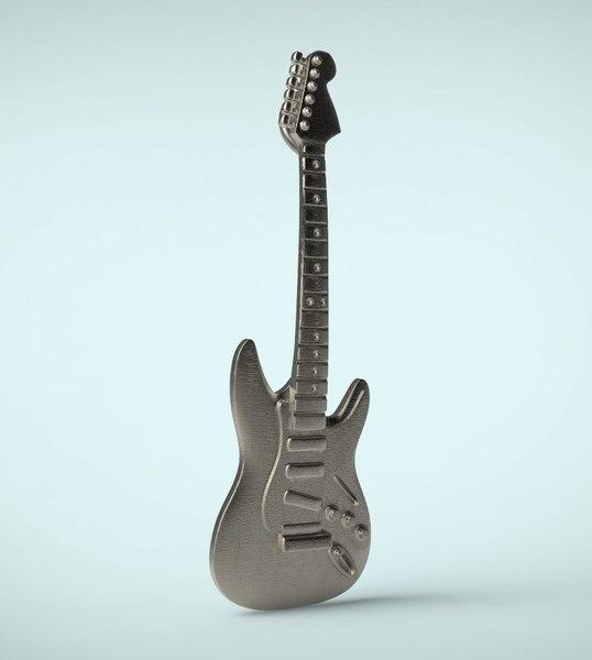 3d pendant guitar