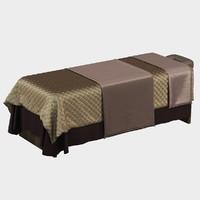 3d model spa bed