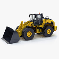 3d model wheel loader generic v1