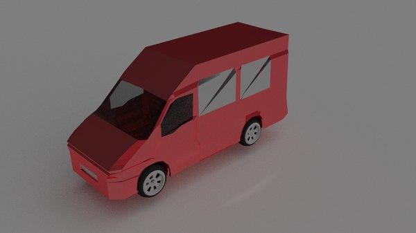 free 3ds mode red van