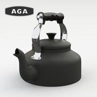3d aga hard anodised model