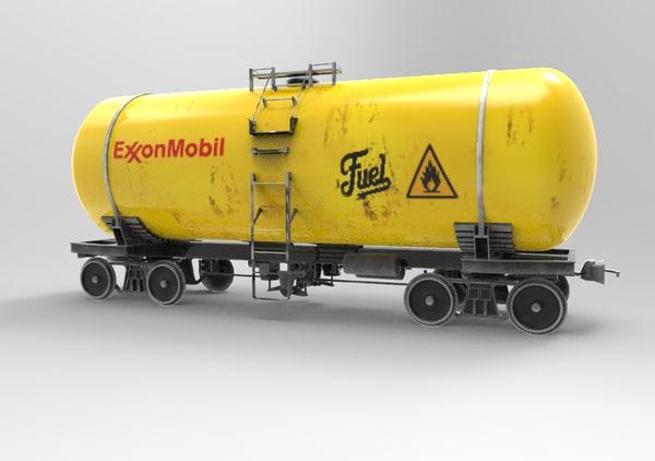 cistern fuel 3d model