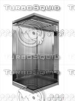 elevator lift passenger 3d model
