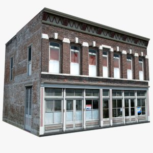 3d old style store