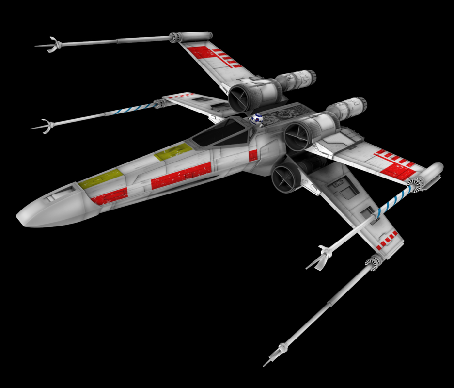 3d star wars x-wing fighter model