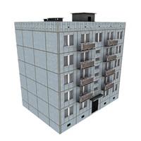 5-Storey Russian Building (KPD-4570-73/75)