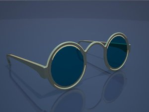 spectacles 3d max